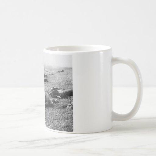 Battle of Gettysburg ~ Harvest of Death July 1863 Mug