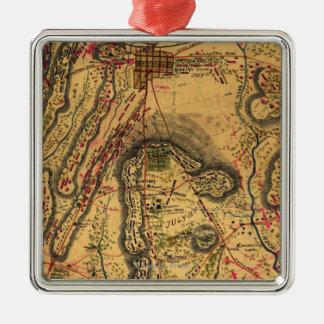 Battle of Gettysburg Metal Ornament