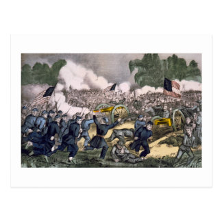 Battle of Gettysburg  Postcard
