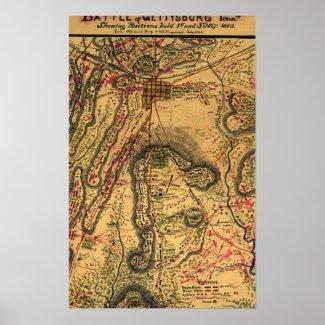 Battle of Gettysburg Print