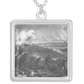Battle of Gettysburg Silver Plated Necklace