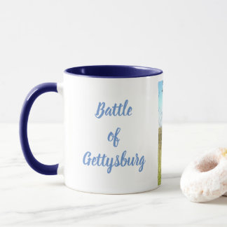 Battle of Gettysburg Two Color Mug
