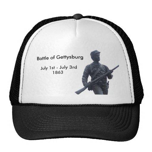 Battle of Gettysburg Union Soldier Hat