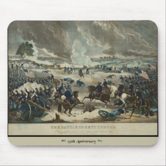 Battle of Gettysburg Water Color Mouse Pad