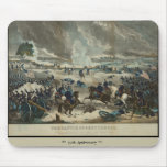 Battle of Gettysburg Water Color Mouse Pads
