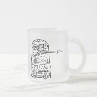 Battle of Golems Glass Mug