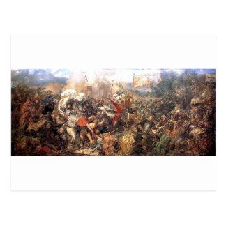 Battle of Grunwald by Jan Matejko Postcard