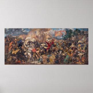 Battle of Grunwald by Jan Matejko Poster