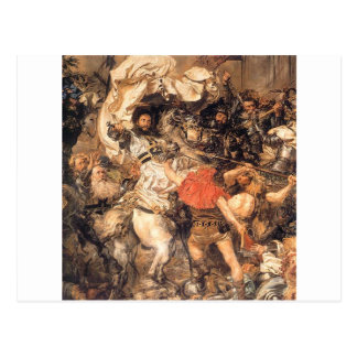 Battle of Grunwald, the death of the Grand Master Postcard