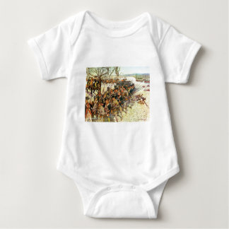 Battle of Guilford Courthouse by Charles McBarron Baby Bodysuit