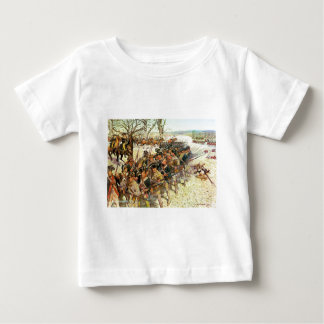 Battle of Guilford Courthouse by Charles McBarron Baby T-Shirt