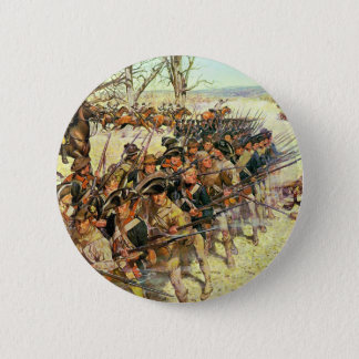 Battle of Guilford Courthouse by Charles McBarron Button