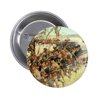 Battle of Guilford Courthouse by Charles McBarron 2 Inch Round Button