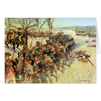 Battle of Guilford Courthouse by Charles McBarron Card