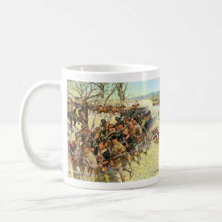 Battle of Guilford Courthouse by Charles McBarron Coffee Mug