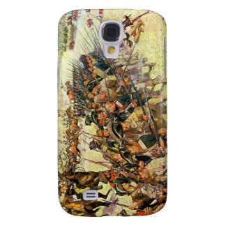 Battle of Guilford Courthouse by Charles McBarron Galaxy S4 Cover