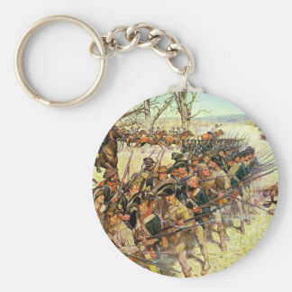 Battle of Guilford Courthouse by Charles McBarron Keychain