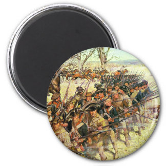Battle of Guilford Courthouse by Charles McBarron Refrigerator Magnets