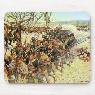 Battle of Guilford Courthouse by Charles McBarron Mouse Pad