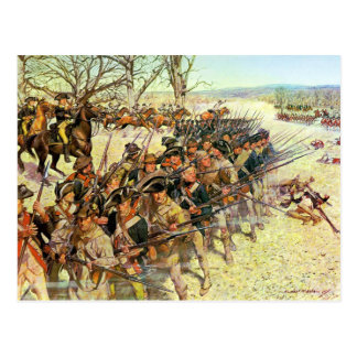 Battle of Guilford Courthouse by Charles McBarron Postcard