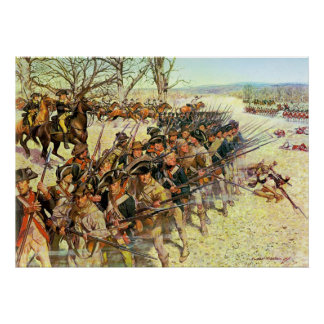 Battle of Guilford Courthouse by Charles McBarron Poster