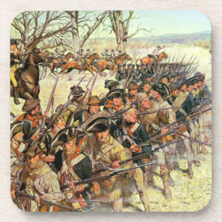 Battle of Guiliford Courthouse Beverage Coaster