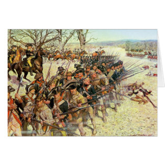 Battle of Guiliford Courthouse Card