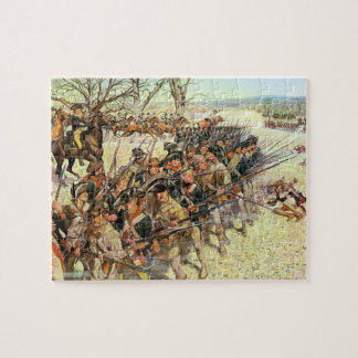 Battle of Guiliford Courthouse Jigsaw Puzzle