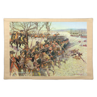 Battle of Guiliford Courthouse Placemat