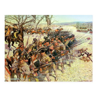 Battle of Guiliford Courthouse Postcard