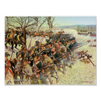 Battle of Guiliford Courthouse Poster