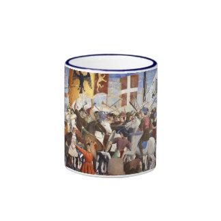 BATTLE OF HERACLIUS COFFEE MUG