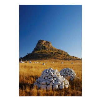 Battle Of Isandlwana Memorial Near Nqutu Poster