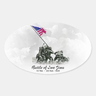 Battle of Iwo Jima Stickers