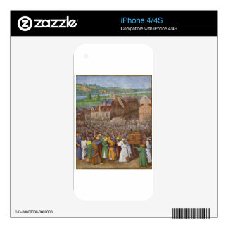 Battle of Jericho by Jean Fouquet Decal For The iPhone 4S