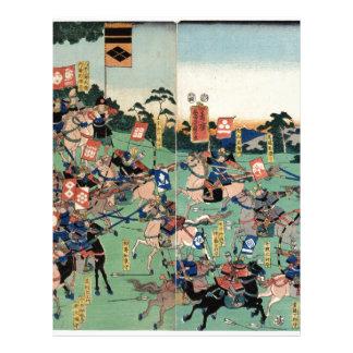 Battle of Kawanakajima Letterhead