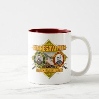 Battle of Kennesaw Mountain Two-Tone Coffee Mug