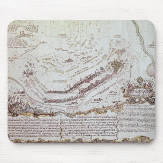 Battle of Kolin in Bohemia, 18th August 1757 Mouse Pad