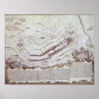 Battle of Kolin in Bohemia, 18th August 1757 Poster