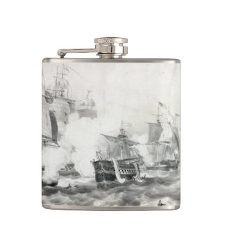 Battle of Lake Erie Flask