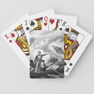 Battle of Lake Erie. September 1813.  Oliver Hazar Card Deck