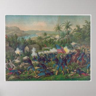 Battle of Las Guasimas Poster