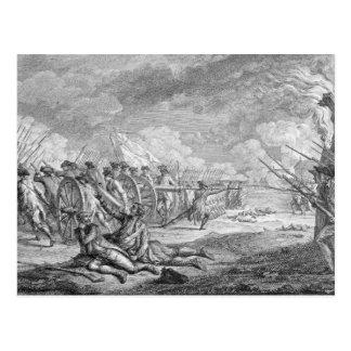 Battle of Lexington,from 'Recueil d'Estampes' Postcard