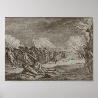Battle of Lexington Print