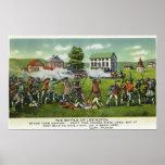 Battle of Lexington Scene Poster
