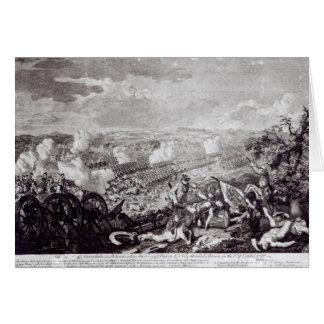 Battle of Lobositz, 1st October 1756 Card