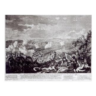 Battle of Lobositz, 1st October 1756 Postcard