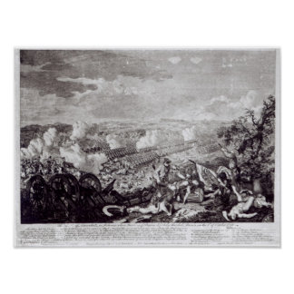 Battle of Lobositz, 1st October 1756 Poster