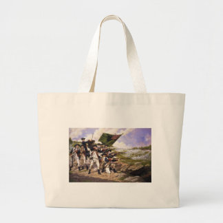 Battle of Long Island by Domenick D'Andrea Large Tote Bag