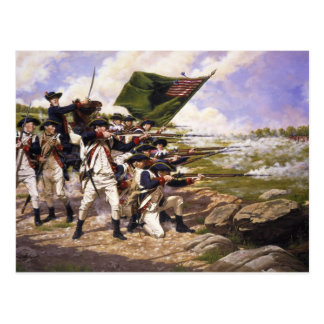 Battle of Long Island by Domenick D'Andrea Postcard